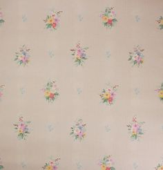 This listing is for one YARD of this vintage wallpaper from the 1930s.    • Width 18 inches  • Length 36 inches  • Repeat 16 inches    If you