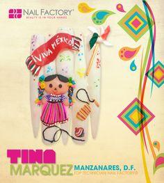 #Tina #Lovenailfactory #Vivamexico