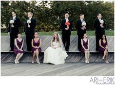 •Hoboken fall wedding - Bridal party || ari + erik wedding photographers•