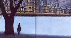 Angela Barrett, Beauty and the Beast, 2006, Candlewick Press- one of the most amazing double page spreads I've seen!