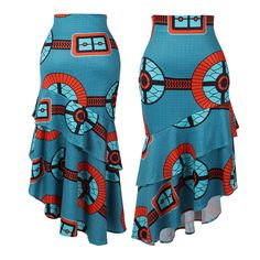 Jupe africaine jupe longue wax ankara skirt tenue femme mode femme  Best African Dresses, Latest African Fashion Dresses, African Attire, African Print Skirt, African Print Dresses, Skirt Fashion, Fashion Outfits, African Blouses, The Dress