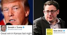 Trump Just Bragged About the Kansas House Win. Nate Silver's Response is Brutal