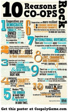 10 Reasons Co-ops Rock!    (courtesy of @Pinstamatic http://pinstamatic.com)