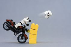 Storm trooper bike crash