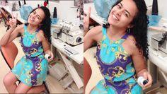 Aprenda Costurar gola/cava americana Alana Santos Blogger