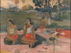 Paul Gauguin – 1848-1903 – Fransa  Nave Nave Moe  Hayatının büyük bir bölümünü Tahiti'de geçiren Paul Gauguin 1894'te yaptığı başarılı tablosu 'Nave Nave Moe', Tahitili iki genç kızın gün ortasındaki en saf halini anlatır. Kullandığı canlı renkler ve resmin doğallığı, ressamın başarısını perçinler. Sentetik teknik kullanan ressamın eserinde iki kız, kompozisyondan uzak, yapıştırma gibi durur.