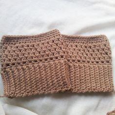 Boot cuffs de croche fácil   crochet boot cuffs easy. Polaina ... 7e528ac4a84