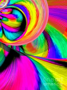 Ride The Rainbow Digital Art by Annie Zeno - Ride The Rainbow Fine Art Prints and Posters for Sale fineartamerica.com
