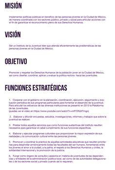 Misión Visión y Objetivos