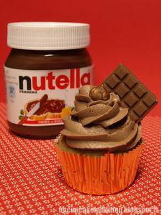 Un Cupcake, l'Addition !: Cupcakes au Nutella®
