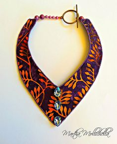 Batik Fabric Jewels by Martha Mollichella - Lacasinaditobia Lacasinaditobia