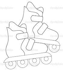 Resultado de imagen para dibujos faciles de patines para dibujar