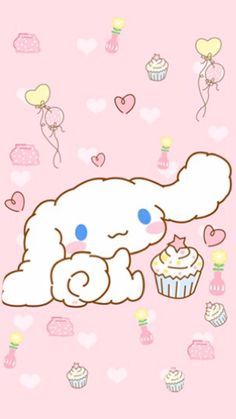 ♥ Cinnamoroll ♥ Sanrio Wallpaper, More Wallpaper, Kawaii Wallpaper, Hello Kitty Wallpaper, Screen Wallpaper, Kawaii Room, Kawaii Art, Kawaii Stuff, Sanrio Characters