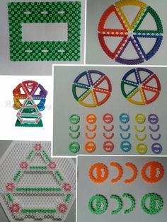 เม็ดบีท 3d Perler Bead, Perler Bead Templates, Hama Beads Design, Diy Perler Beads, Pearler Bead Patterns, Perler Patterns, Pixel Art, Peler Beads, Beads Pictures