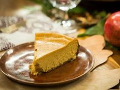 Pumpkin Cheesecake w