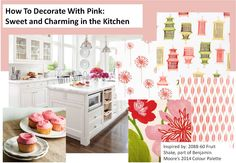 how to decorate with pink - sweet kitchen