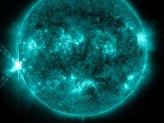 A New Set of Solar Fireworks. Credit: NASA/GSFC/SDO