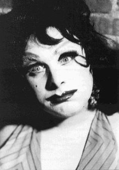 Divine (as Lady Divine) from John Waters' Multiple Maniacs, 1970 #Divine #JohnWaters #MultipleManiacs #LadyDivine