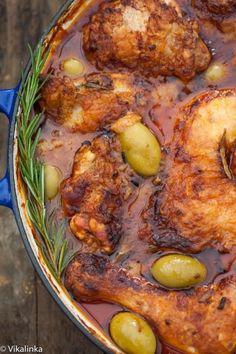 Chicken Cacciatora #chickencacciatora #foodporn #reciperadar http://livedan330.com/2014/11/03/chicken-cacciatora/