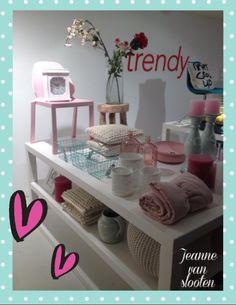 Tafeldecoratie bij de woonfabriek / stylist voor een dag - Jeanne van Slooten