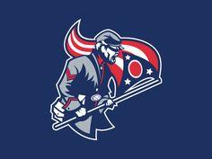 columbus blue jackets logo | Columbus Blue Jackets logo design concept. Feel free to share your ...