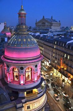 Paris in pink
