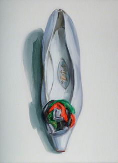 lisa milroy- i won't use lisa colours she uses pale colour which look effective for her paintings but there really light and don't stand out i will focus more on her outline and i will illustrate within this. Lisa Milroy, Still Life Artists, Shoe Image, Cinderella Shoes, Composition Design, Art Themes, Shoe Show, Painting Videos, Art Uk