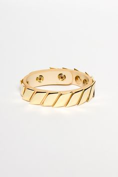 Reversible Leather Bracelet