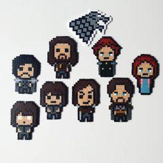 Game of Thrones ( Eddard Ned, Catelyn Tully, Jon Snow, Bran, Arya, Robb, Sansa)…