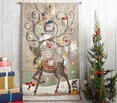 Fabric Advent Calendars & Advent Calendar For Kids | Pottery Barn Kids