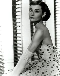 Definition of classic elegance and beauty: Audrey Hepburn