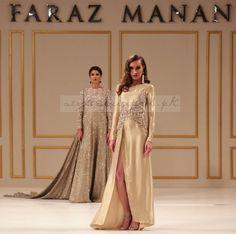 There is no replacement for hard work but any one can do it. But what can't be replaced is the midas touch. The Magic wand of creativity. Pakistani Dresses, Indian Sarees, Faraz Manan, I Love Gold, Hard Work, Pastels, Indian Fashion, Brides, Ethnic