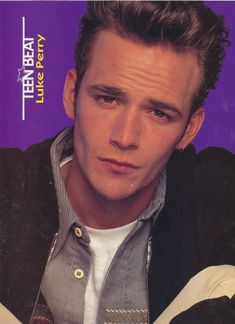I read Teen Beat weekly!! I had this poster of Luke Perry on my bedroom wall growing up :)