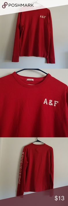 ABERCROMBIE AND FITCH LONG SLEEVES T SHIRT ABERCROMBIE AND FITCH LONG SLEEVES MEN'S  T SHIRT GOOD CONDITION ABERCROMBIE AND FITCH Shirts Tees - Long Sleeve