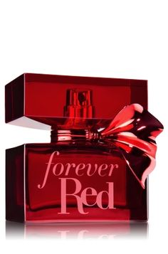 """Forever Red Bath & Body Works Eau de Parfum """"A passionate blend of pomegranate, red osmanthus and a sexy surprise of vanilla rum."""""""