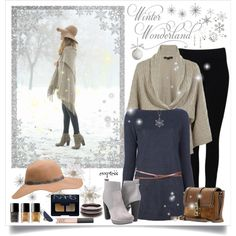 Walking in a Winter Wonderland by exxpress on Polyvore featuring Snobby Sheep, Ralph Lauren Black Label, Witchery, Diesel, Burberry, Sara Weinstock, Reeds Jewelers, BaubleBar, NARS Cosmetics and Chanel
