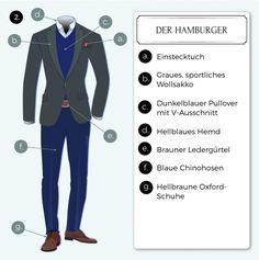 Dresscode Business Casual einfach, lässig umgesetzt
