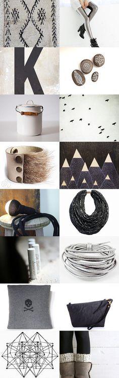 K by Nao on Etsy--Pinned with TreasuryPin.com #treasury #pendantlight #black #etaussi #etsy