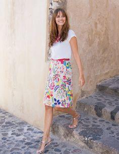cute boden skirt