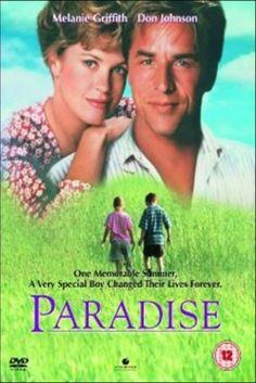 Paradise (DVD, Elijah Wood, Don Johnson, Melanie Griffith Don Johnson, Elijah Wood, Melanie Griffith Movies, Cannes, Thora Birch, Touchstone Pictures, Miami Vice, Sweet Stories, Action Movies