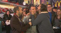 Brian Quinn licking Joe Gatto (from google.com)