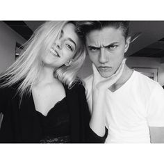 models, lucky blue smith, pyper america smith, lucky and pyper Sisters Goals, Siblings Goals, Lucky Blue Smith, Brother Sister Pictures, Blonde Twins, Pyper America Smith, Boy And Girl Friendship, Bff, Besties