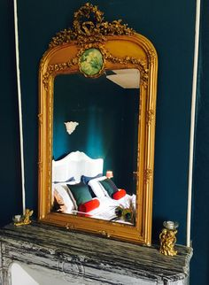 Trumeau, Normandy, Mirror, Wall, Room, Furniture, Home Decor, Cat Breeds, Normandie