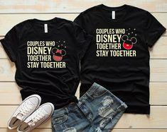 cc1b84d1 Disney Couple Shirts, Disney Matching Shirts, Couple Shirts, Disneyland  matching shirts, Disney vocation, Disneyland couple shirt. Disneyland  Couples ...