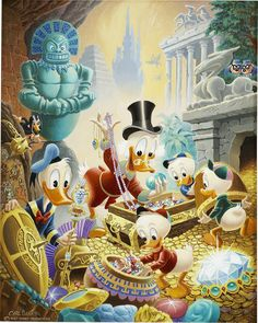 Carl Barks - Wanderers of Wonderlands (1915х2401)
