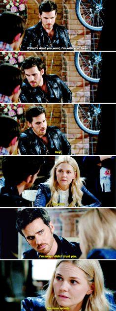 """Emma and Killian - 6 * 5 """"Street Rats"""" #CaptainSwan"""