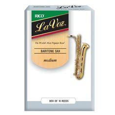La Voz Baritone Sax Reeds, Strength Medium, 10-pack - http://www.rekomande.com/la-voz-baritone-sax-reeds-strength-medium-10-pack/
