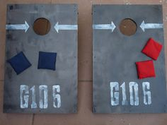 The Happy Homebodies: DIY Cornhole: Build Your Own Yard Game