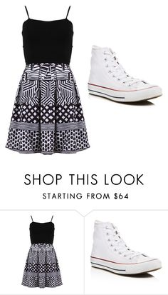 """""""Sin título #33"""" by andy-alesal on Polyvore featuring moda, FRACOMINA y Converse"""