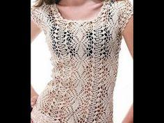 Preciosa Blusa Calada a Crochet - YouTube